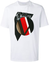 Neil Barrett graphic print T-shirt - men - Cotton - XS