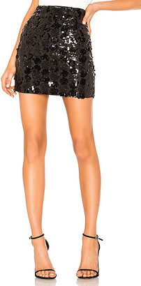 superdown Daphne Sequin Mini Skirt