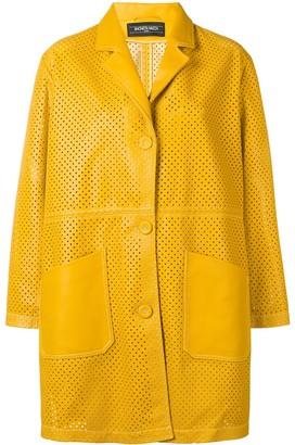 Simonetta Ravizza classic leather coat