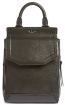 Rag & Bone Small Pilot Ii Leather Backpack - Black