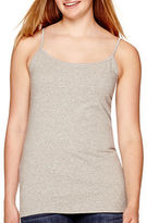 Arizona Favorite Solid Cami without Shelf Bra - Juniors