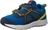 Reebok Kids Zone Cushrun 2.0 2V Running Shoes, Instinct Blue/Collegiate Navy/Hero Yellow/White, M US