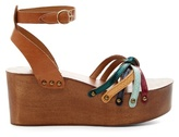 Etoile Isabel Marant Zia leather wedges