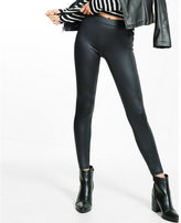 Express black shiny legging