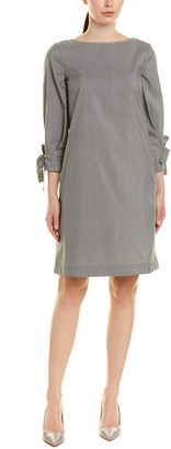 Lafayette 148 New York Paige Silk-Blend Shift Dress