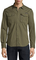 Diesel Military Shirt, Green