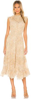 Rebecca Taylor Sleeveless Soleil Smock Dress