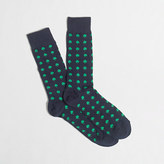 J.Crew Factory Shamrock socks