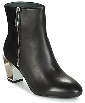 United Nude ICON BOOT MID women's Low Ankle Boots in Black