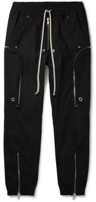 Rick Owens Cotton-Blend Cargo Trousers