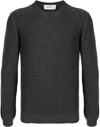Cerruti Ribbed-Knit Wool Jumper