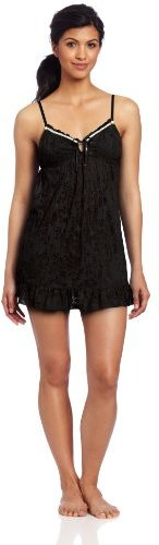 Betsey Johnson Women's Burnout Knit Slip