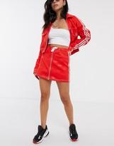 adidas x Fiorucci trefoil denim mini skirt