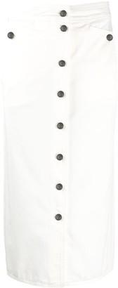 Etro High-Waisted Denim Skirt