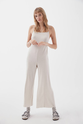 Out From Under Raelynn Ribbed Lounge Overall