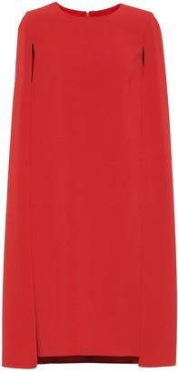 Max Mara Sansone cape dress