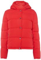 Tu clothing Red Cropped Padded Jacket