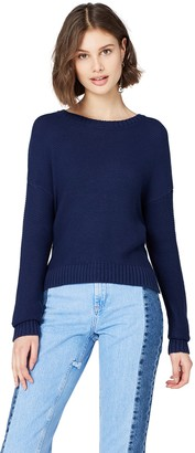 Find. Amazon Brand Women's Drop-shoulder Knit Jumper