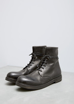 Marsèll nero zucca zeppa lace-up boot