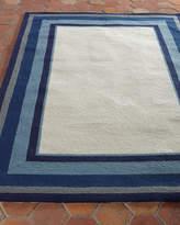 """Horchow Mazarine Indoor/Outdoor Rug, 7'6"""" x 9'6"""""""