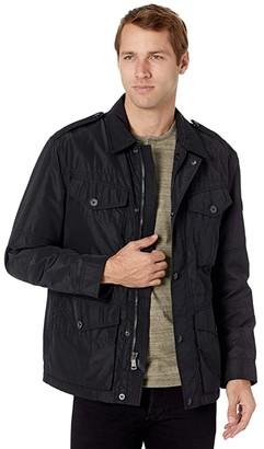 Polo Ralph Lauren Nylon Four-Pocket Jacket (Polo Black) Men's Clothing