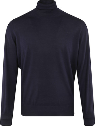 Brunello Cucinelli Turtleneck Ribbed Sweater