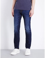 Ps By Paul Smith Antique Slim-fit Tapered Jeans