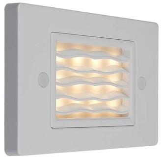 Bruck Lighting Step 1 - LED Step Light Color: Bronze, Reflector: Flood 60 Degrees