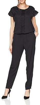 Taifun Women's Hose Freizeit Sonderpassf Jumpsuit, Black (Black 100), UK (36 EU)