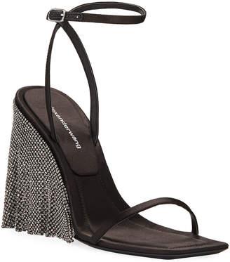 Alexander Wang Blake Crystal Wedge Sandals
