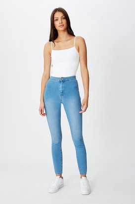 Supre Super Skinny Sky High Jean