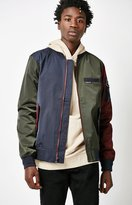 Members Only Twill Colorblock Bomber Jacket