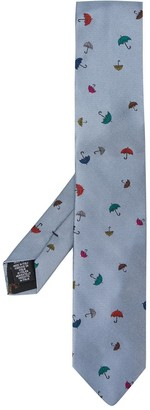Paul Smith Umbrella Pattern Tie