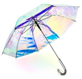 ShedRain Iridescent Auto Open Stick Umbrella