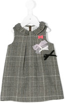 Lili Gaufrette houndstooth shift dress