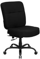 Laduke Task Chair Symple Stuff Arms: Included, Upholstery Color: Leather
