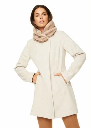 Comma Women's Mantel Langarm Wool Blend Coat