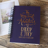 & So They Made First Father's Day Baby Adventures Memory Book