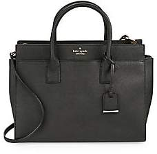 b6a20e4cf20a Kate Spade Women's Candace Leather Satchel
