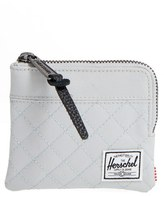 Herschel Men's 'Johnny' Half Zip Wallet - Black