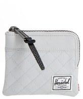 Herschel Men's 'Johnny' Half Zip Wallet - Grey