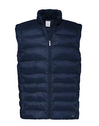 Puma CARE OF by Men's Water Resistant Puffer Gillet, (Green), (Size:S)