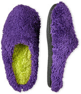 Dearfoams Faux Fur Clog Slippers