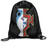 Showtime Show Time Euro 2016 Champ Portugal Backpack Gymsack Drawstring Rucksack