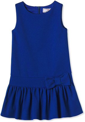 Classic Prep Childrenswear Girl's Cameron Drop-Waist Sleeveless Ponte Dress, Size 2-14