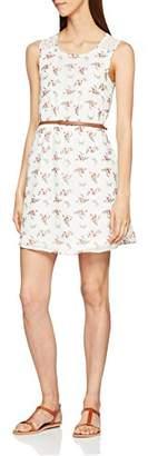 Vero Moda Women's 10201891 A-Line Crew Neck Sleeveless Dress - Multicolour