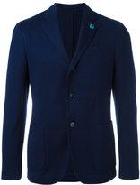 Lardini patch pockets blazer - men - Cotton/Cupro/Viscose - 52