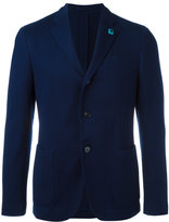 Lardini patch pockets blazer - men - Cotton/Viscose/Cupro - 52