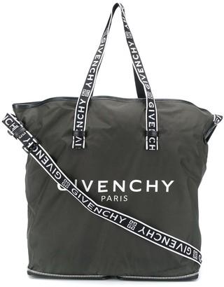 Givenchy Logo Print Shopper Tote