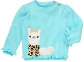 Gymboree Leopard Bow Alpaca Princess Sweater